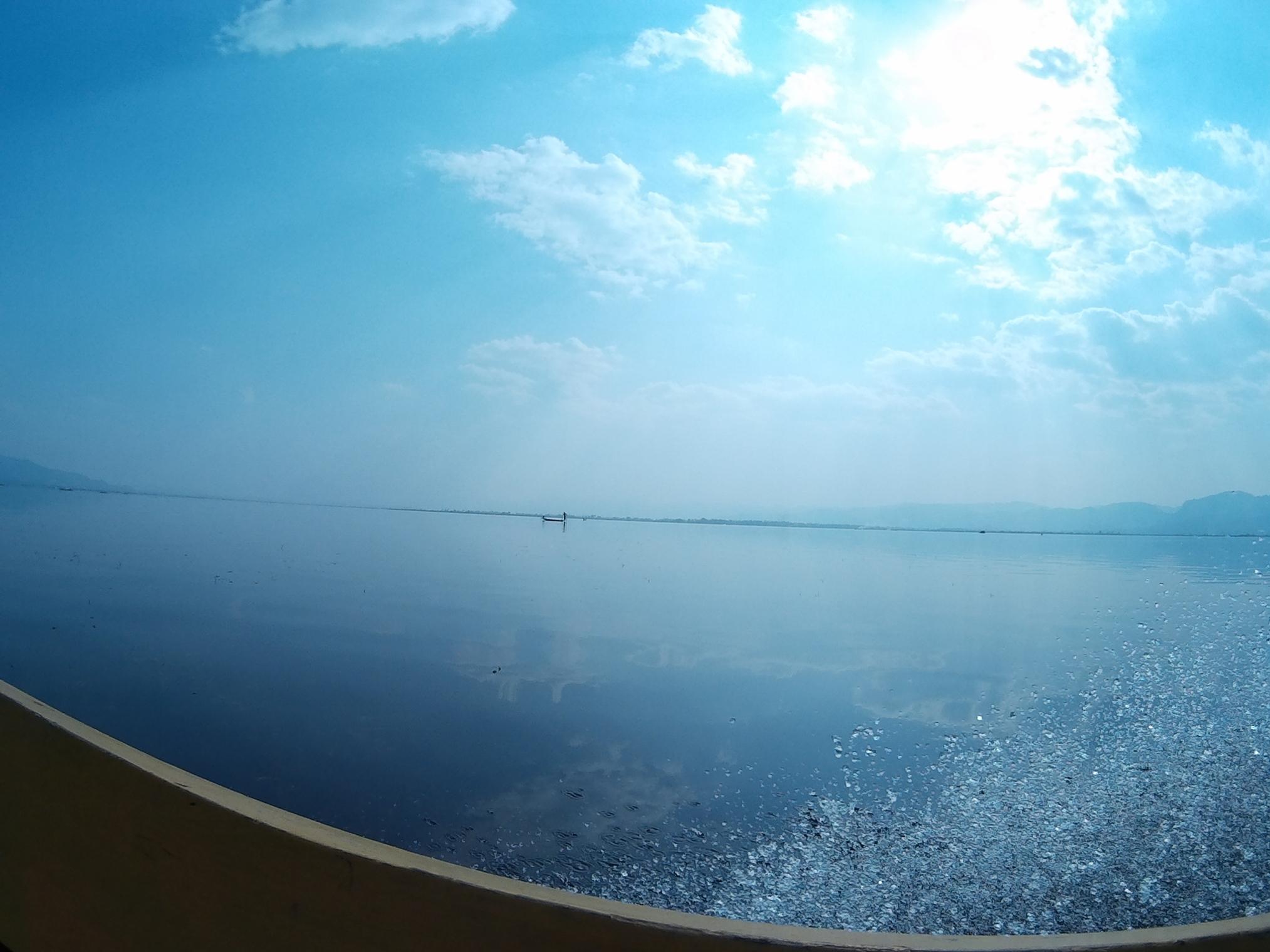 Ciel du lac Inle