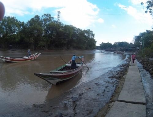 La banlieue de Yangon