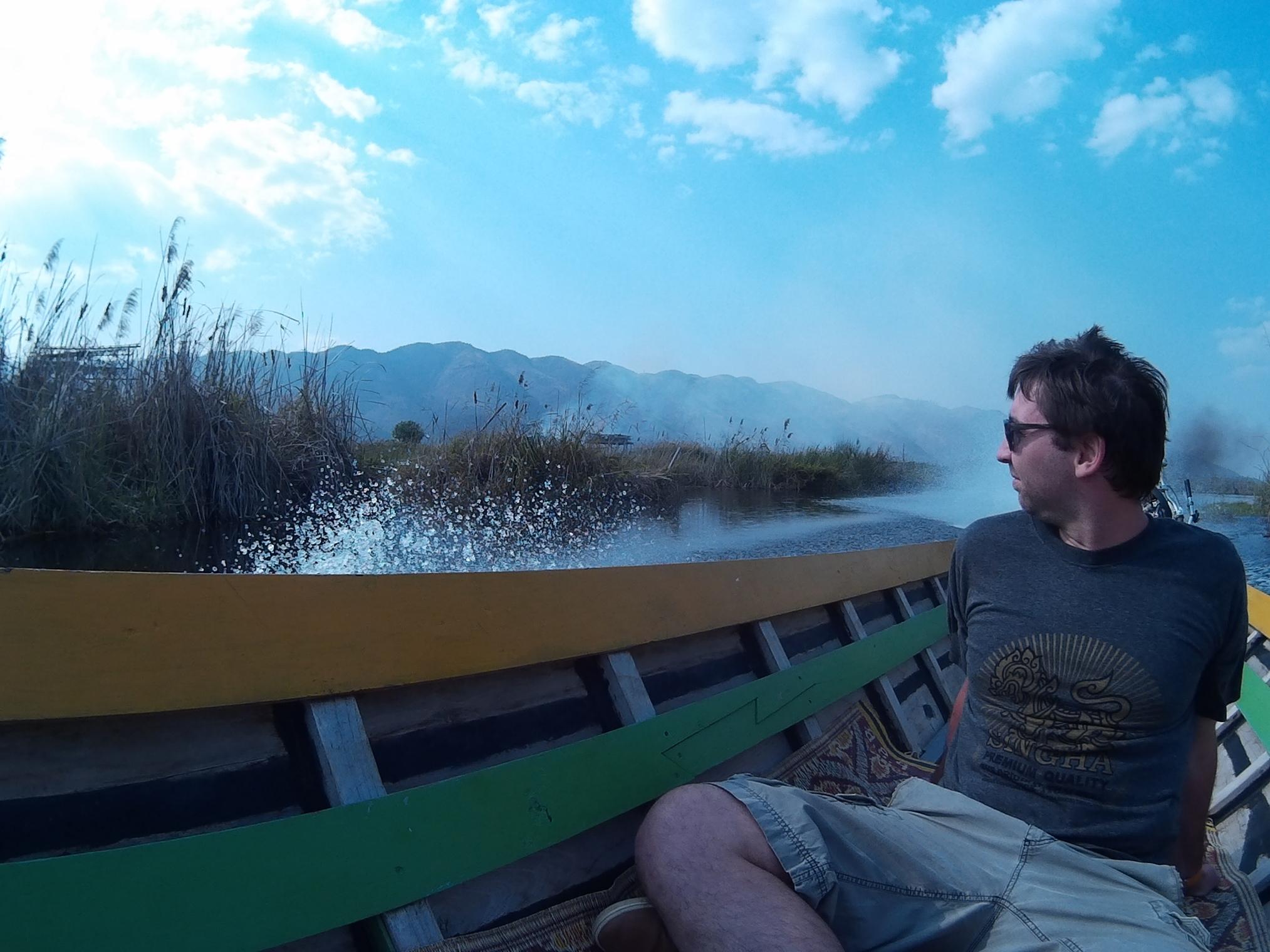 Julien sur le lac Inle