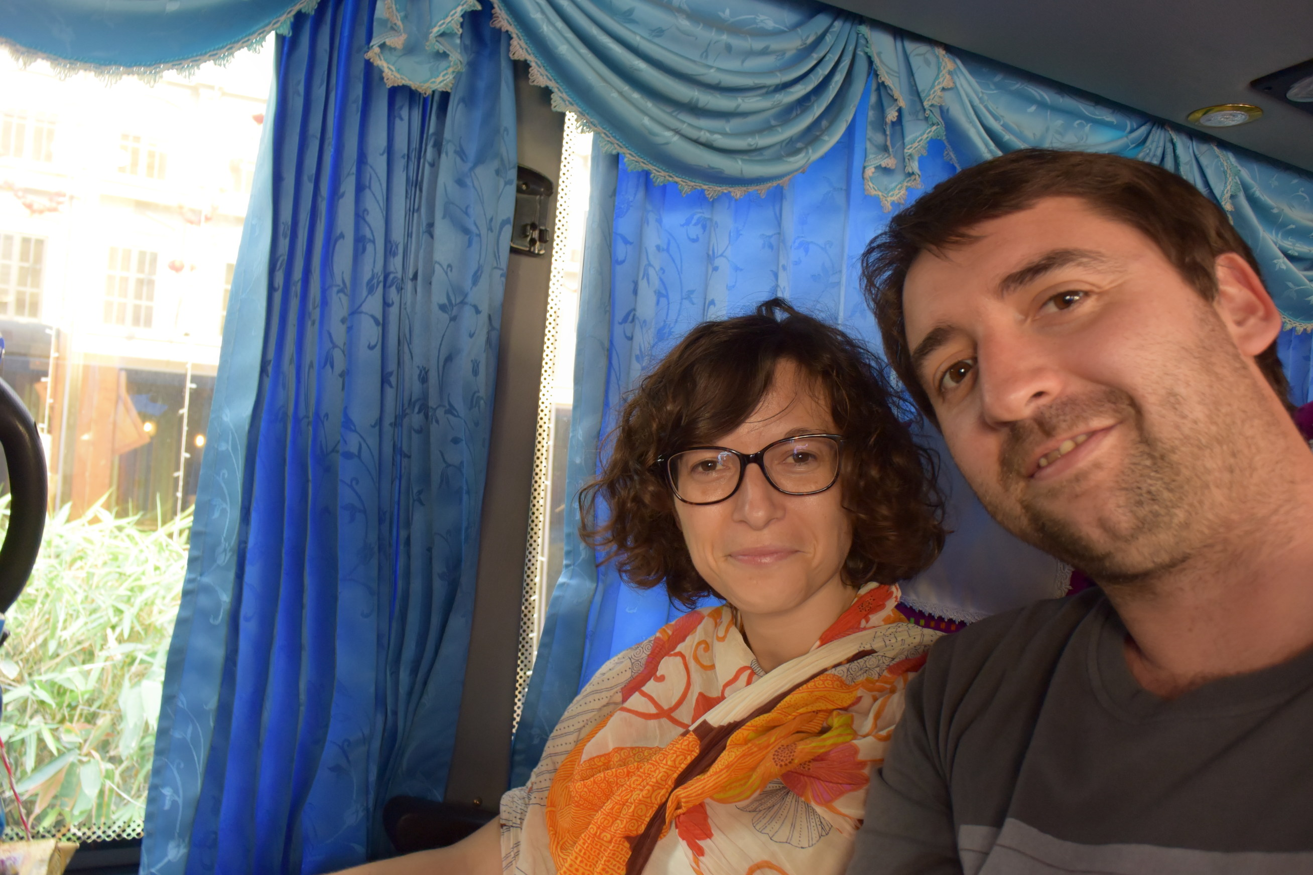 Bus de Bangkok à Siem Reap