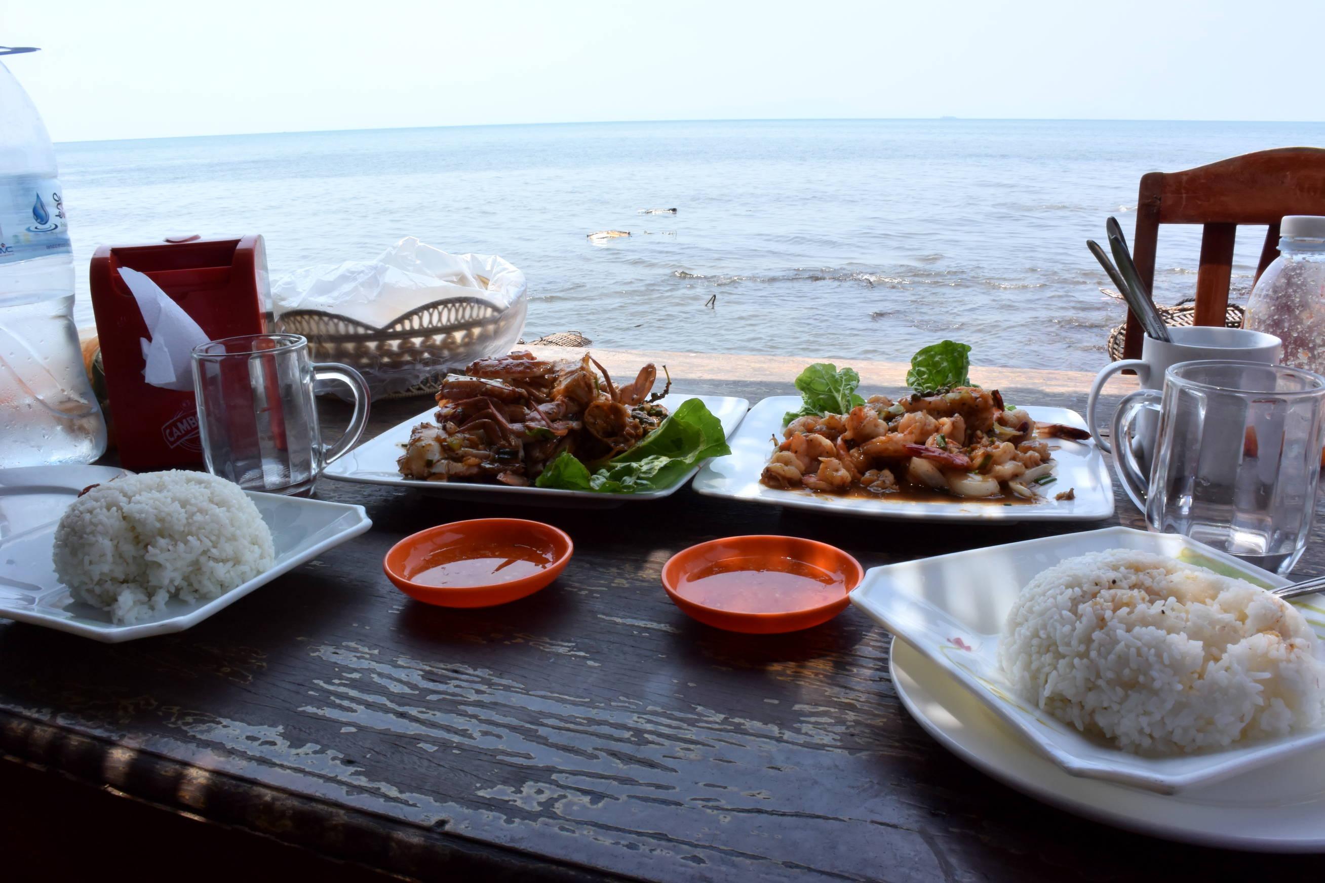 Crabe au poivre de Kampot à Kep au Cambodge 1