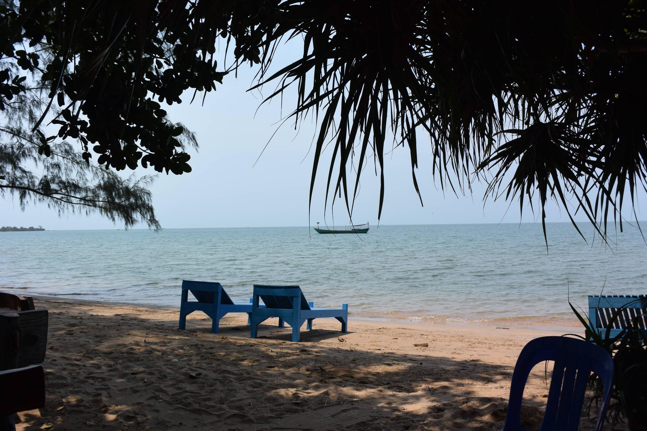 Île du Lapin à Kep au Cambodge 3
