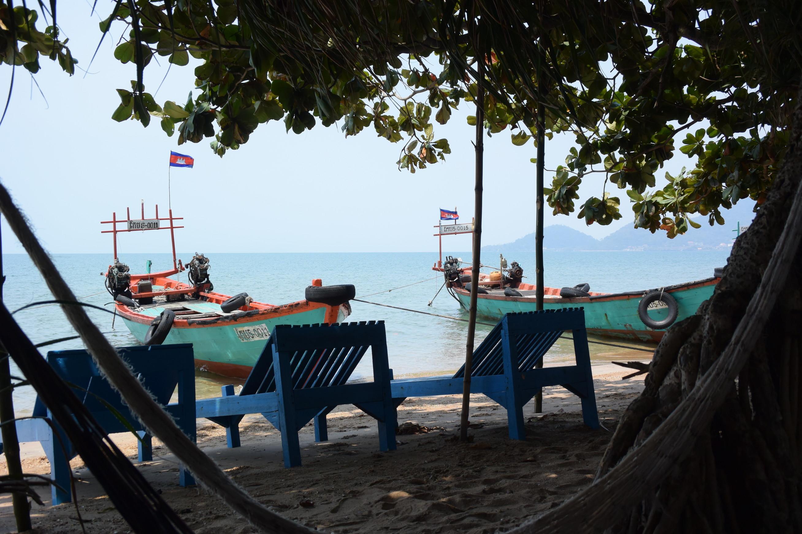 Île du Lapin à Kep au Cambodge 4