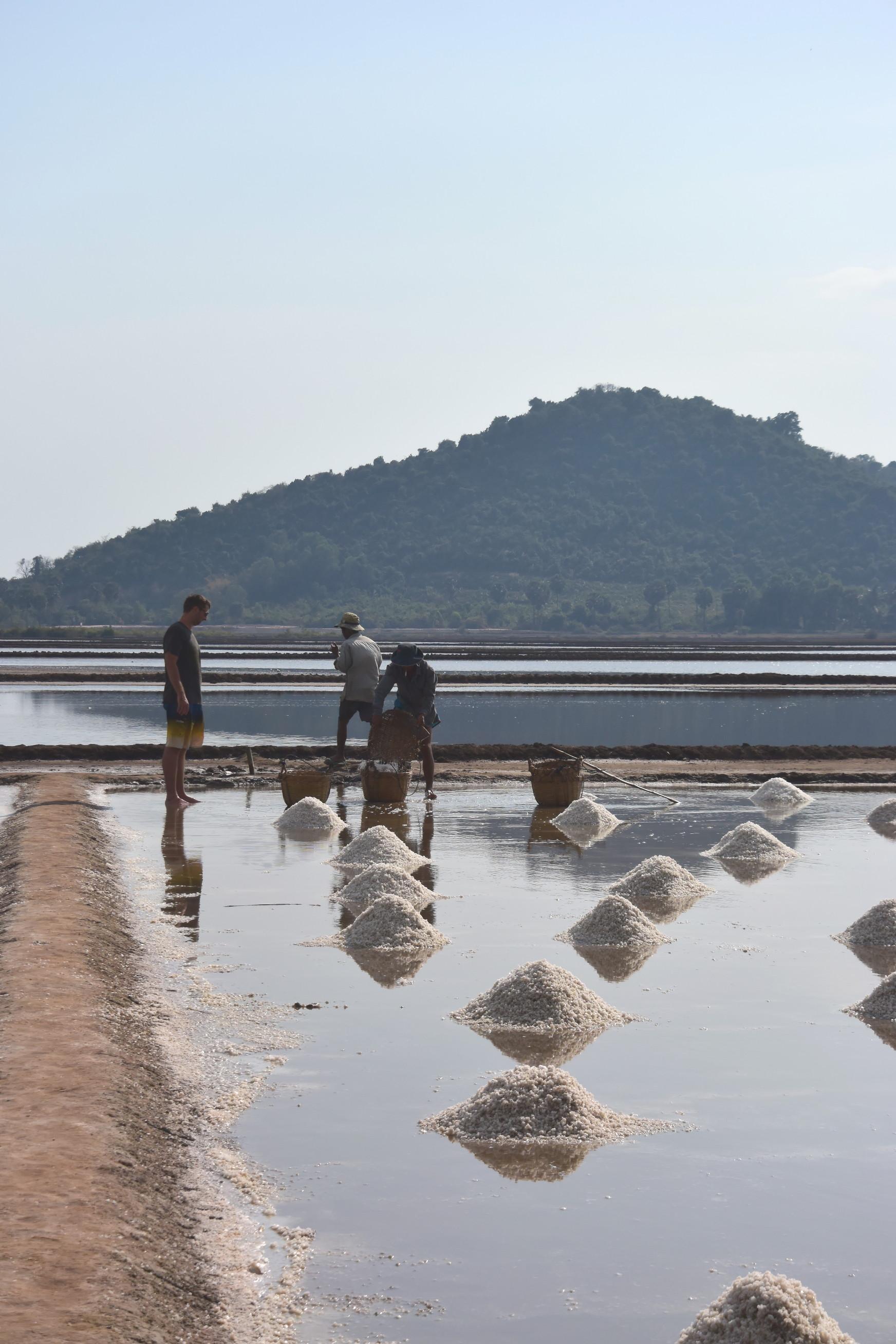Marée salant de Kep au Cambodge 3