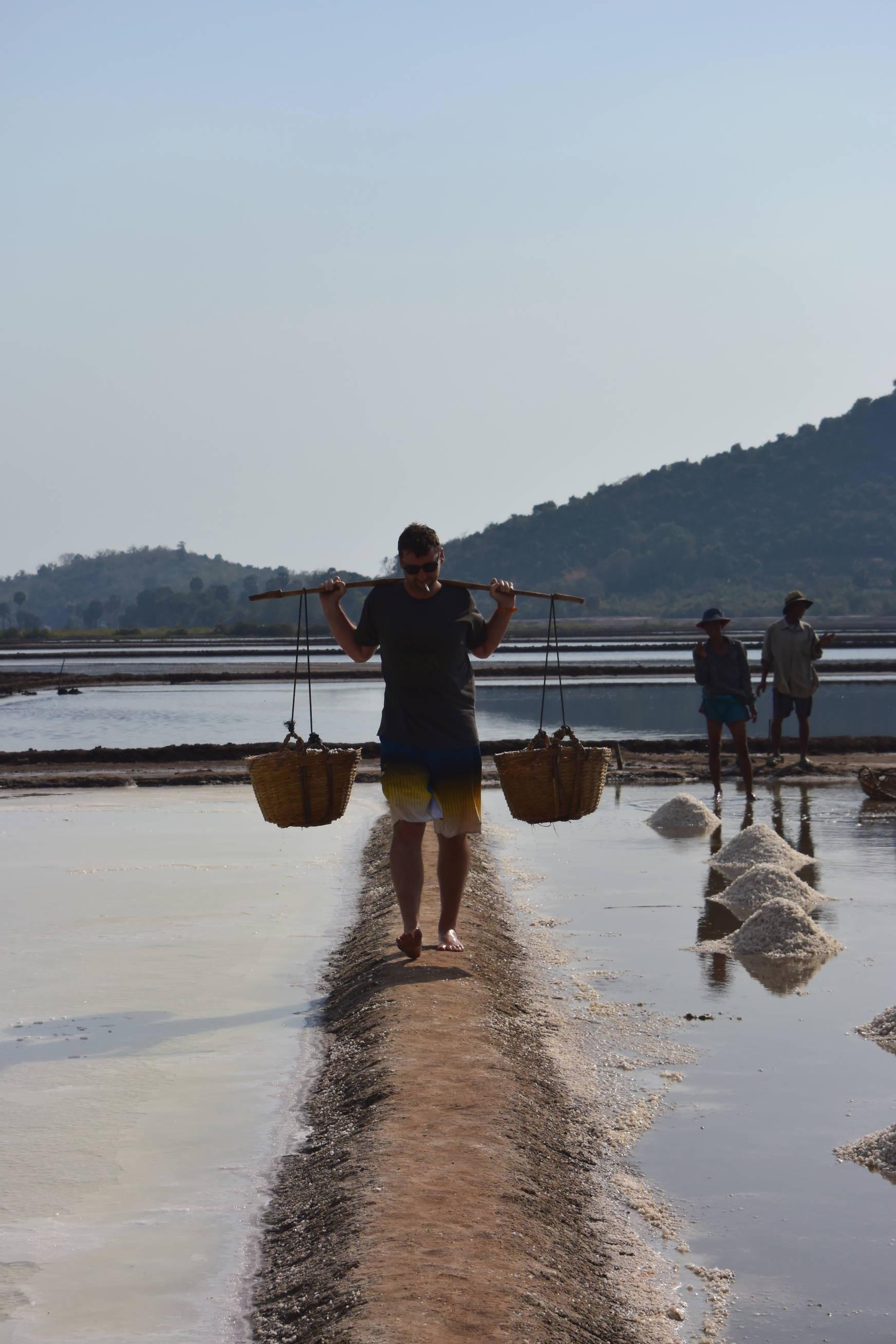 Marée salant de Kep au Cambodge 4