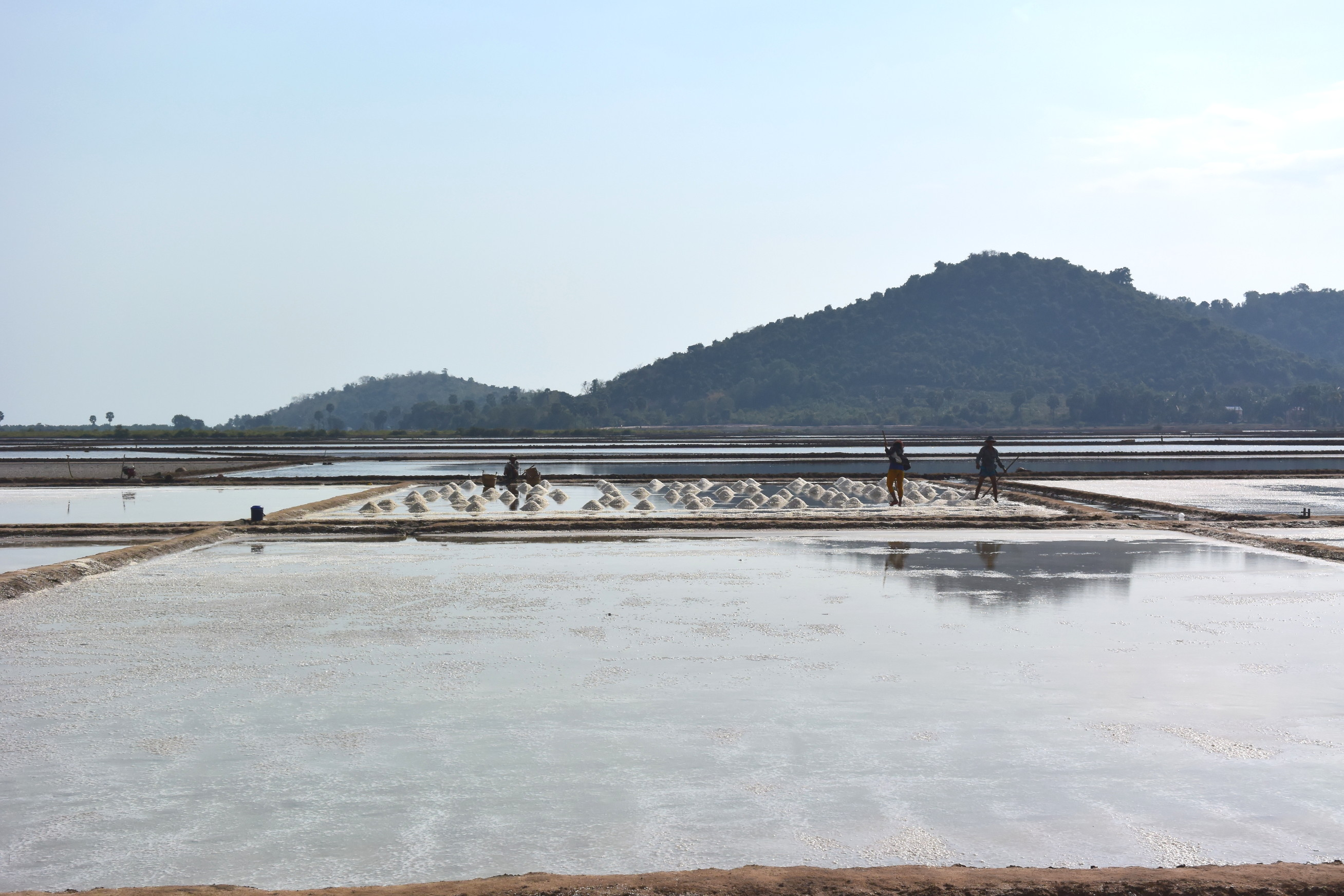 Marée salant de Kep au Cambodge 5