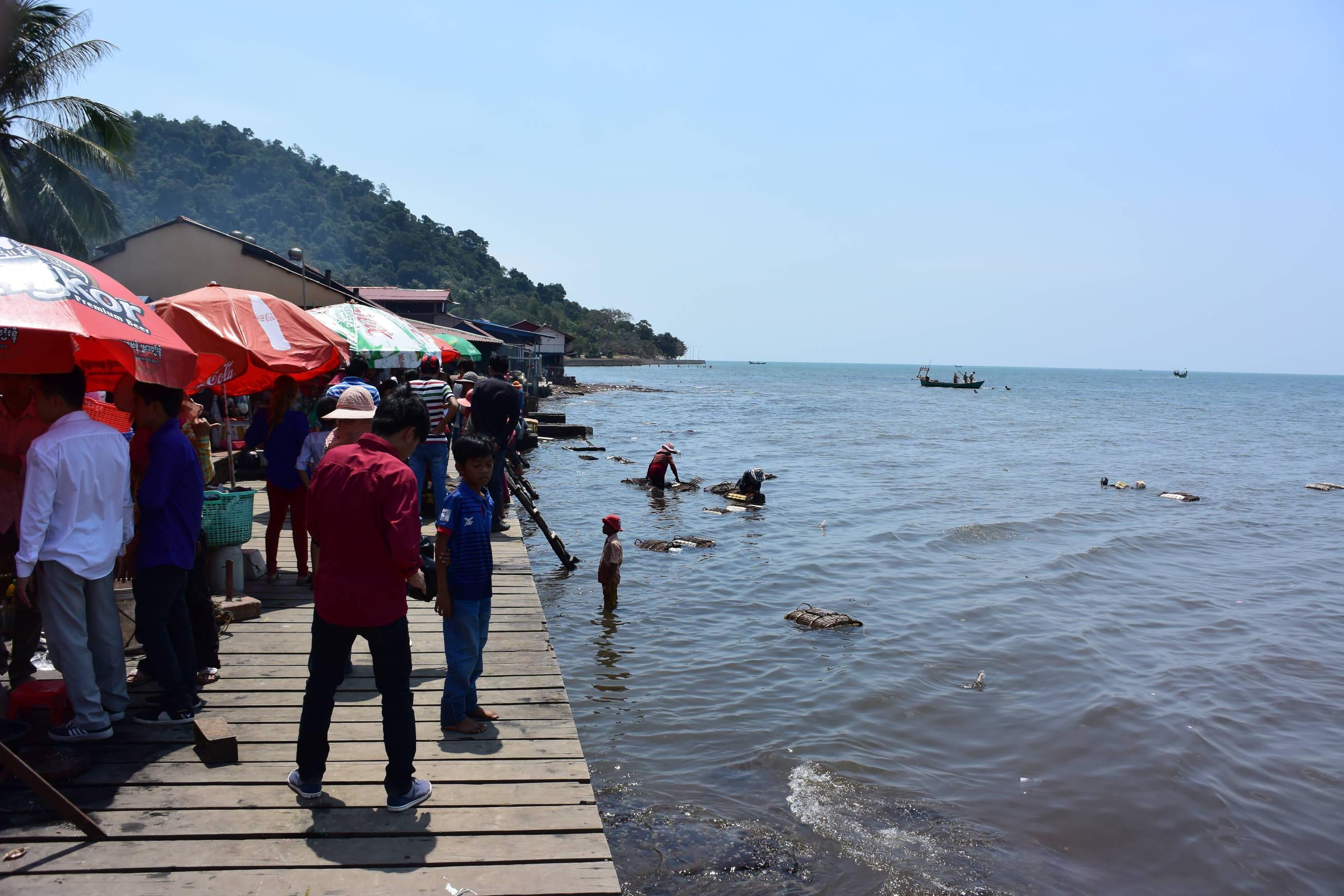 Marché aux crabes de Kep au Cambodge 2