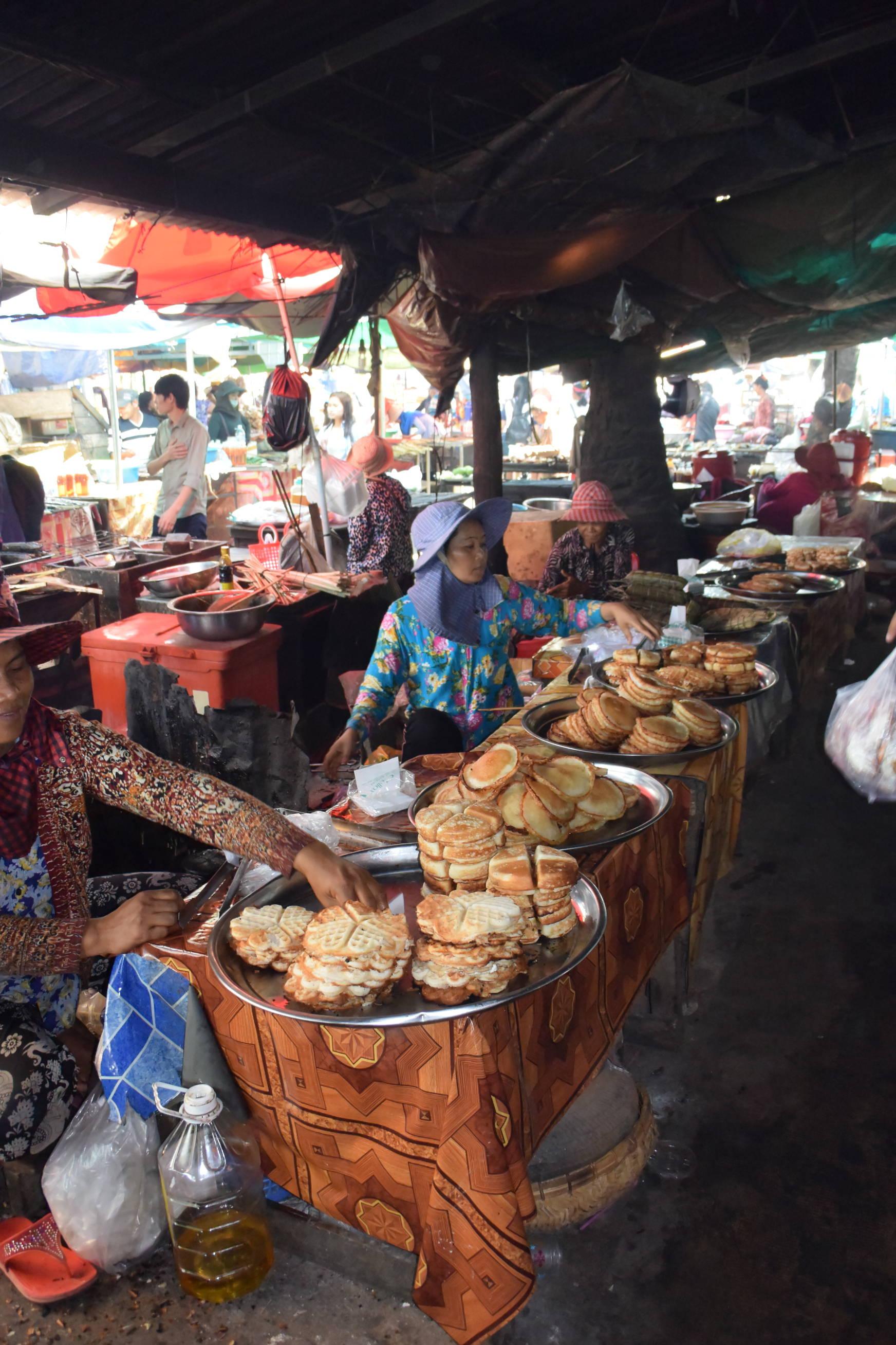Marché aux crabes de Kep au Cambodge 3
