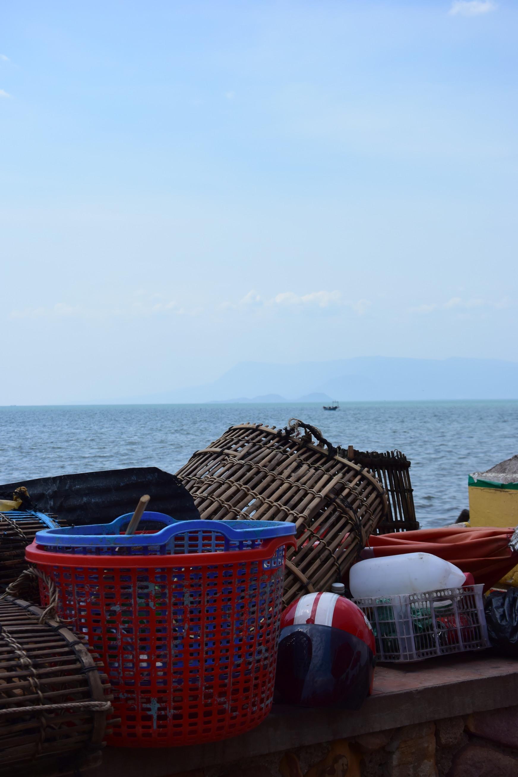 Marché aux crabes de Kep au Cambodge 4