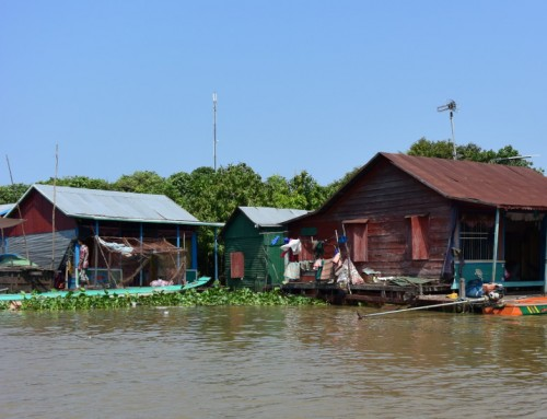 Dérive entre Siem Reap et Battambang