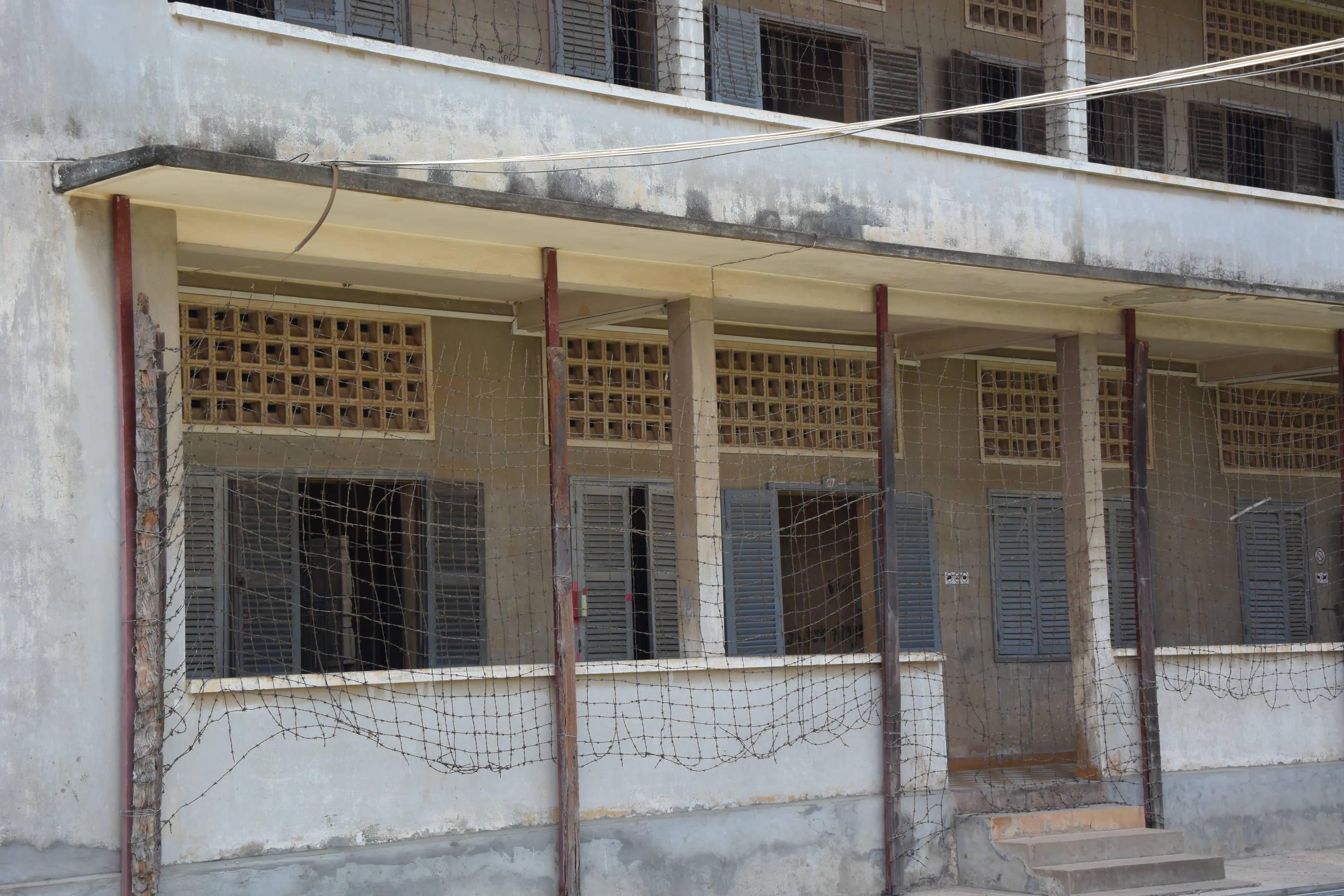 Musée S21 à Phnom Penh au Cambodge 1
