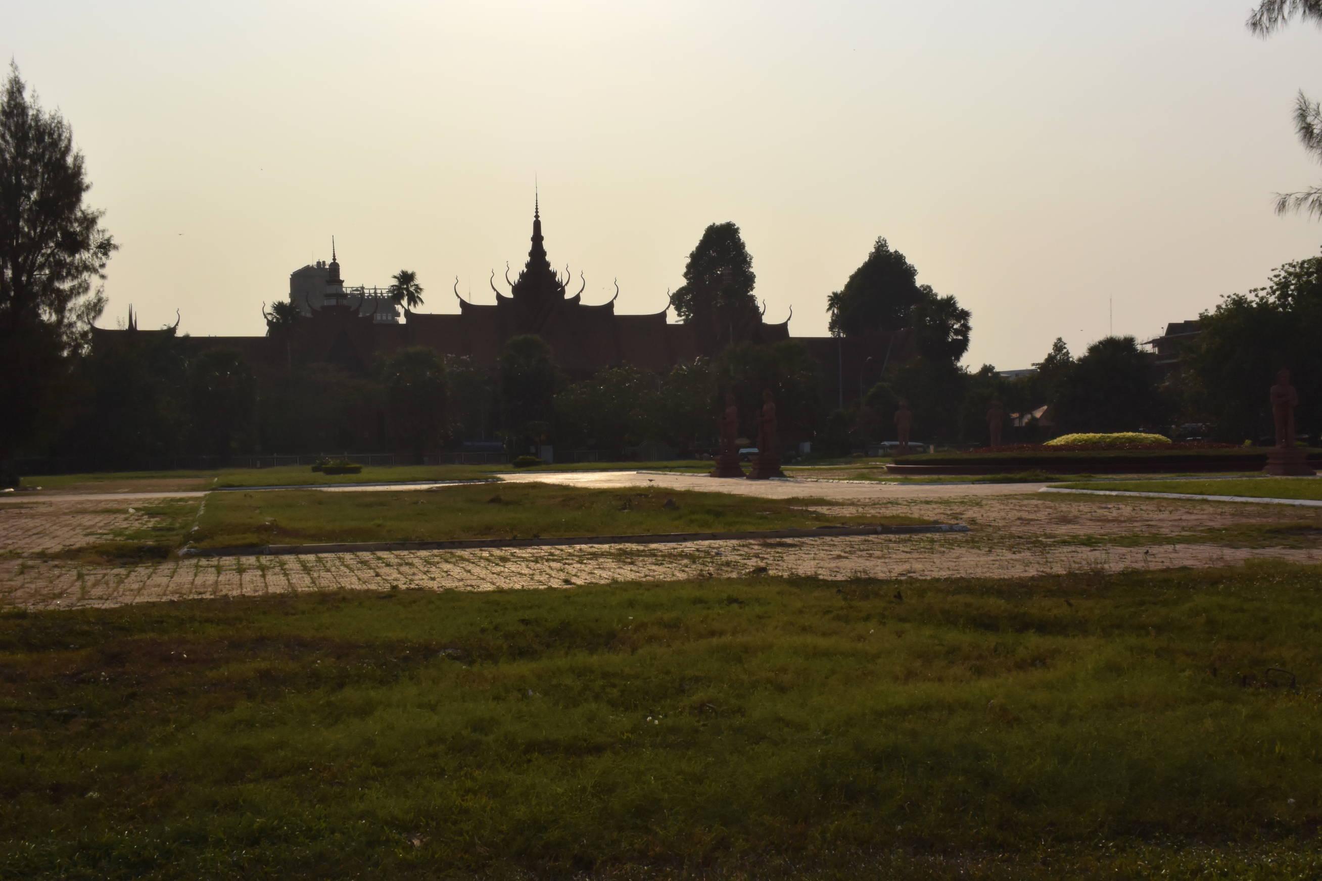 Palais Royale à Phnom Penh au Cambodge-2