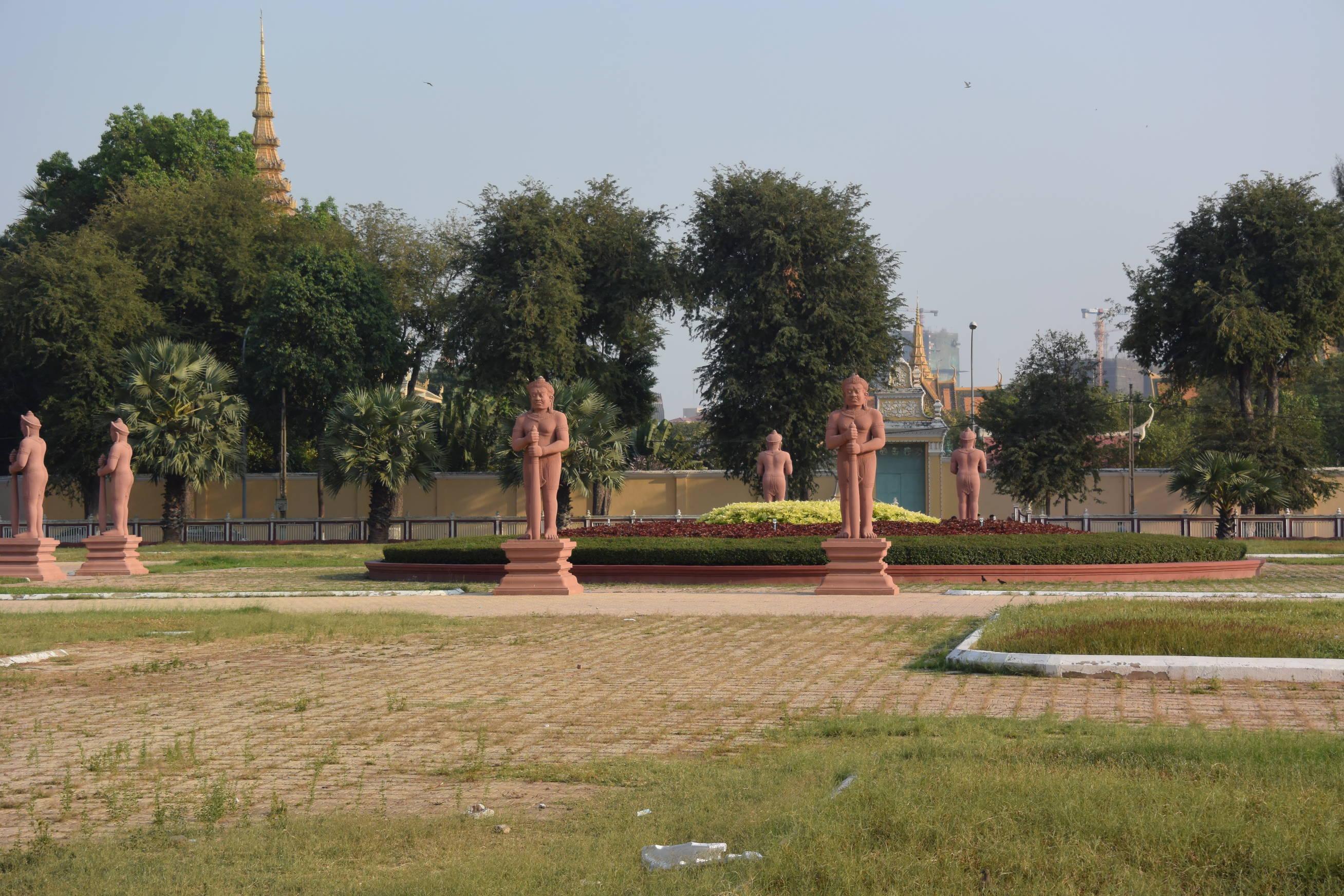 Palais Royale à Phnom Penh au Cambodge-4