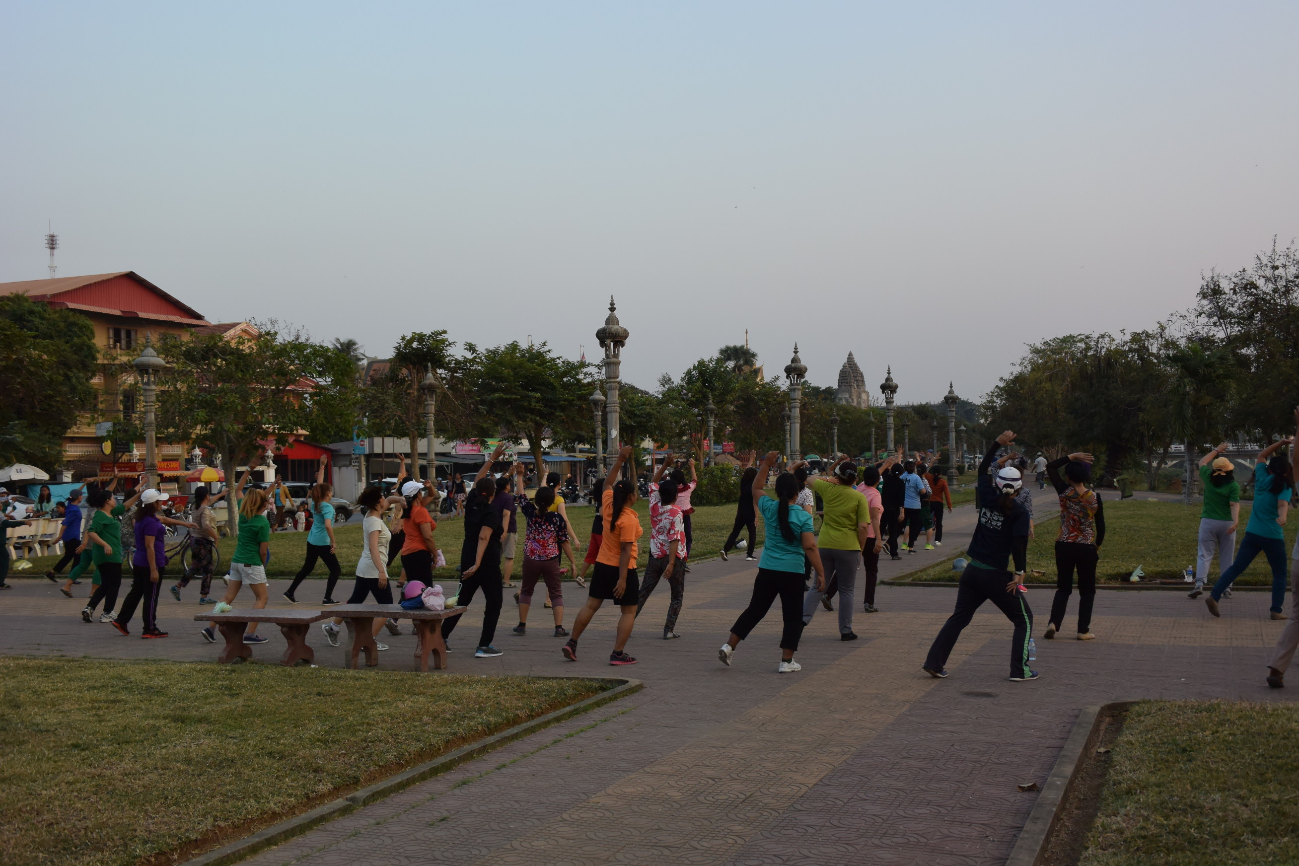 Cours aerobic Battambang