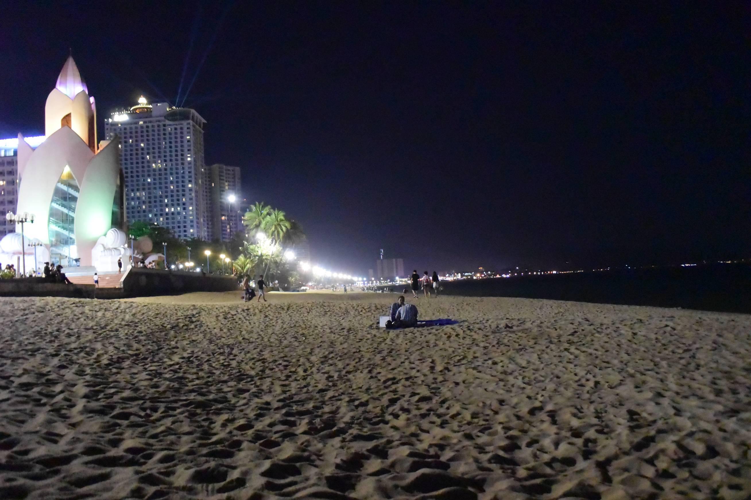 Apéro sur la plage de Nha Trang