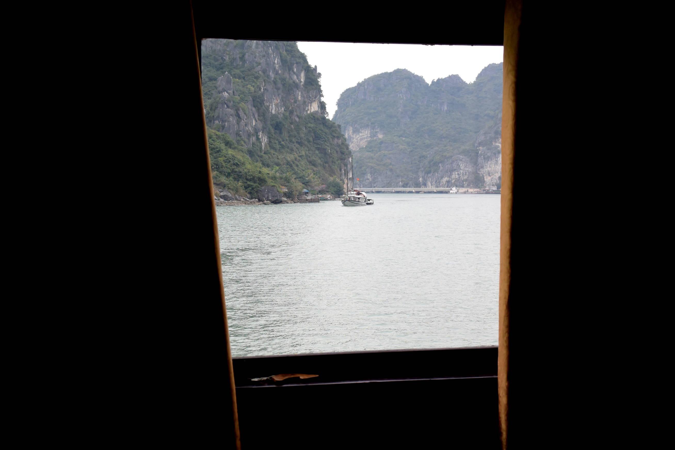 Cabine croisière baie d'Halong 2