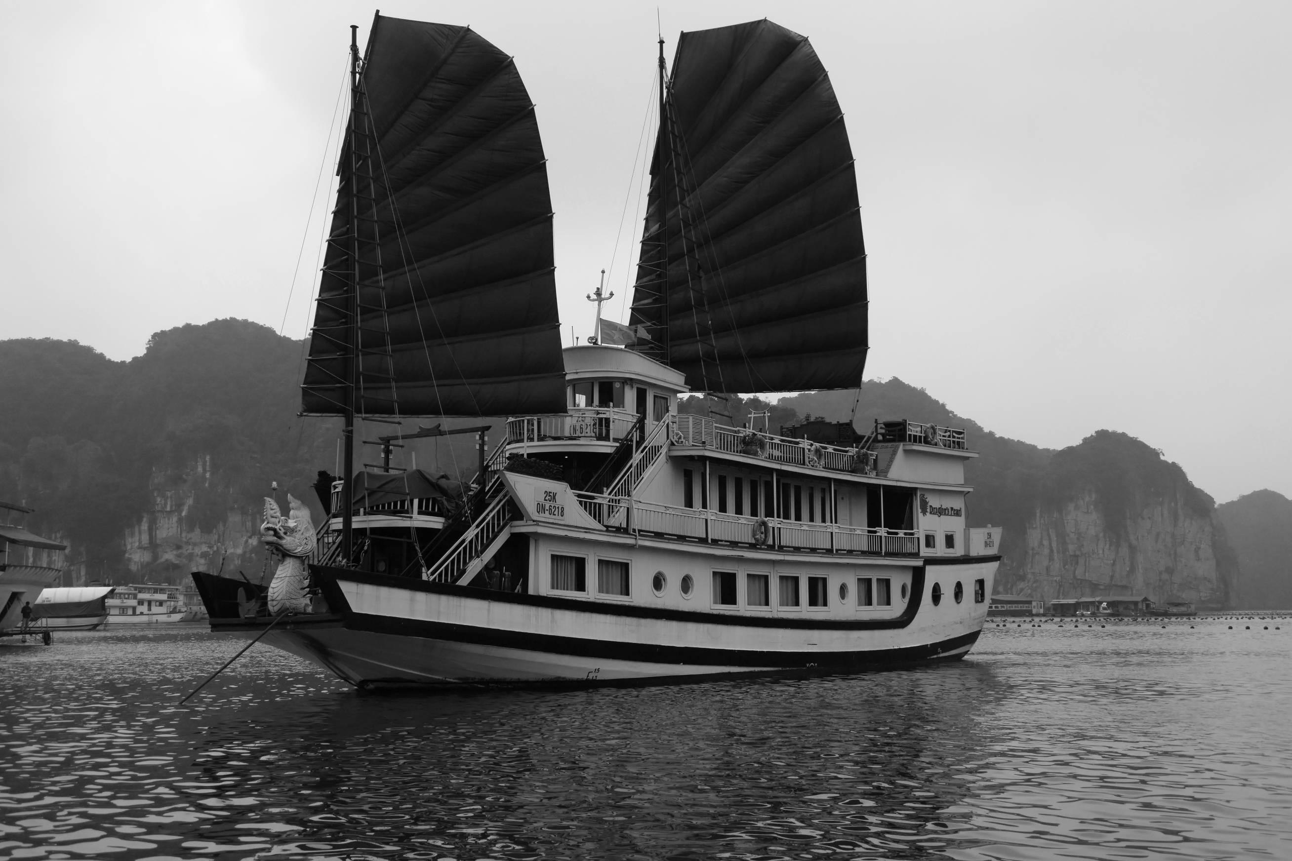 Embarquement pour la baie d'Halong 2