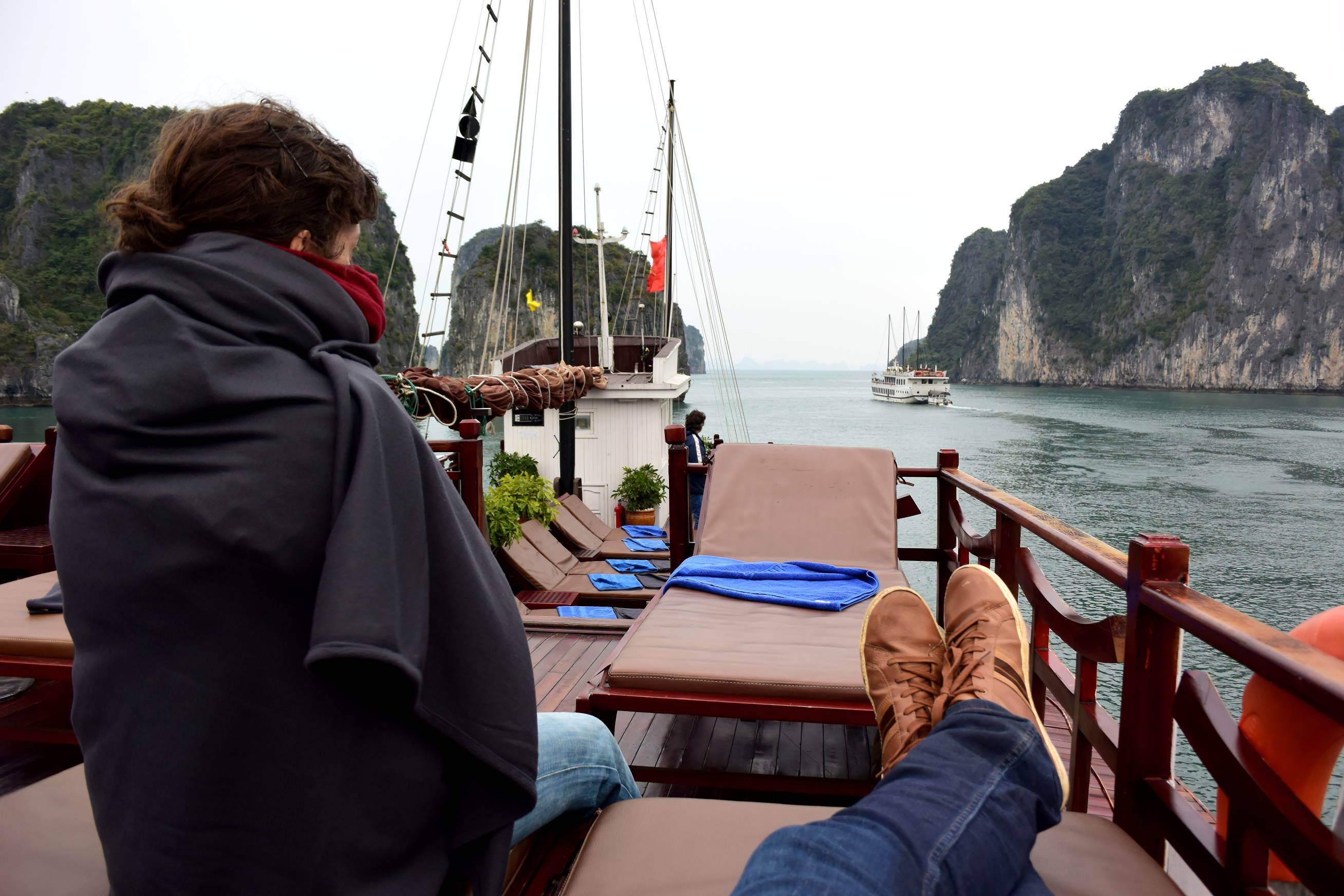 Embarquement pour la baie d'Halong 3
