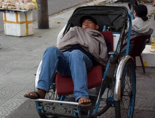 L'art de dormir dans la rue
