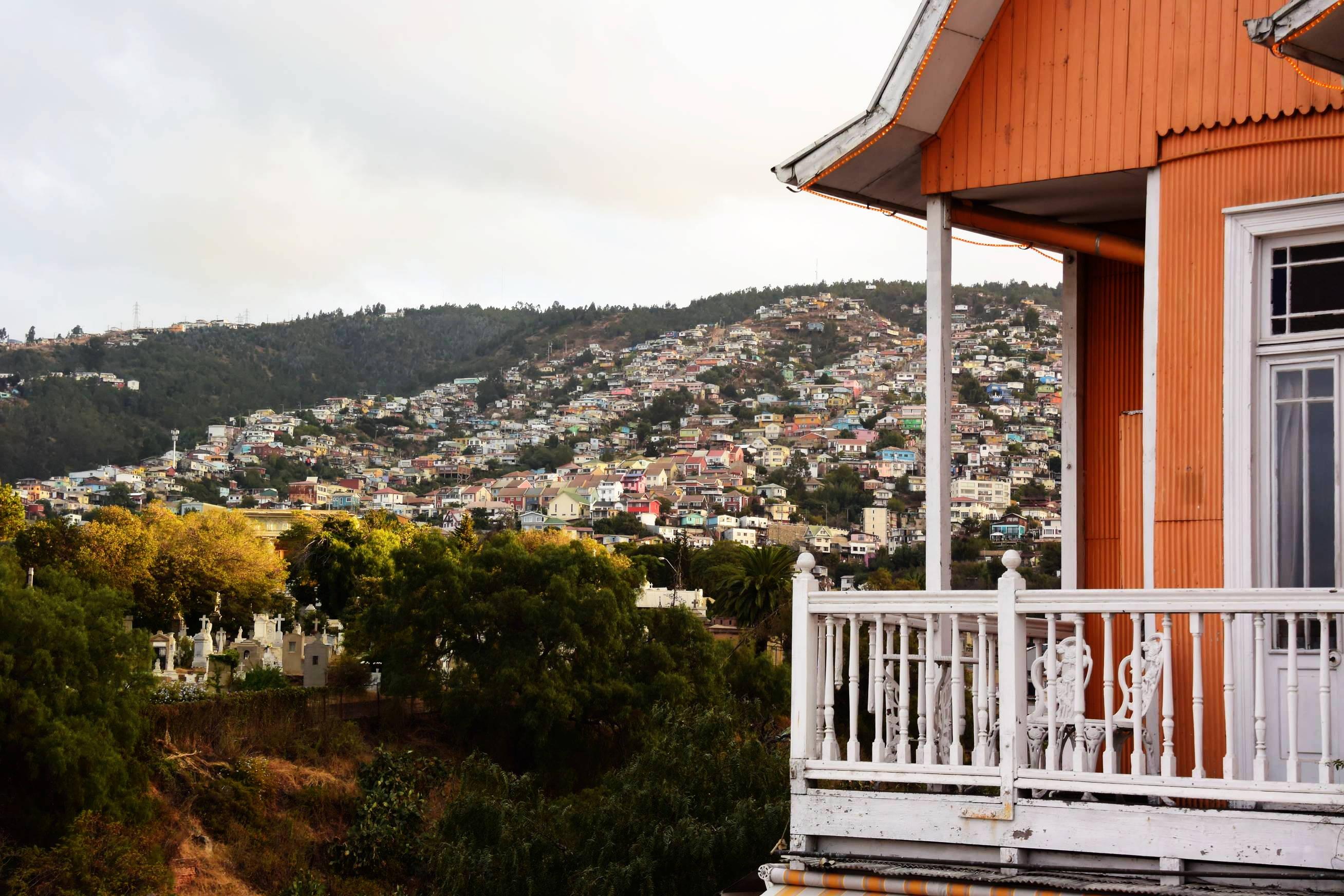 Collines de Valparaiso 2