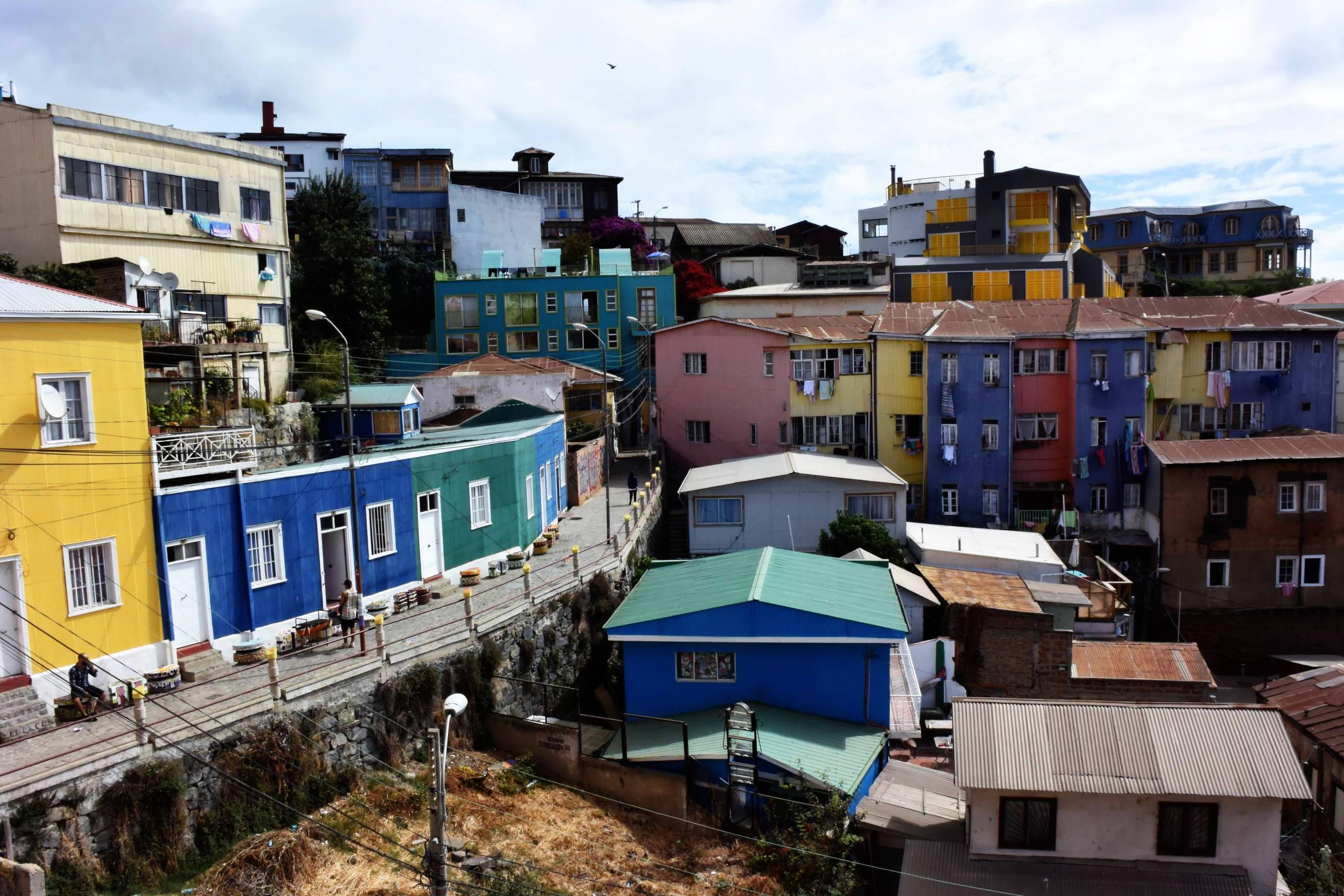 Collines de Valparaiso 4