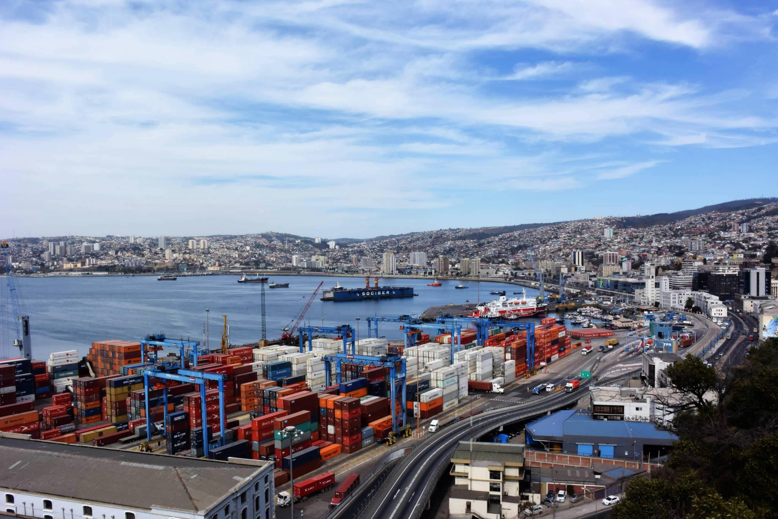 Port de Valparaiso 1