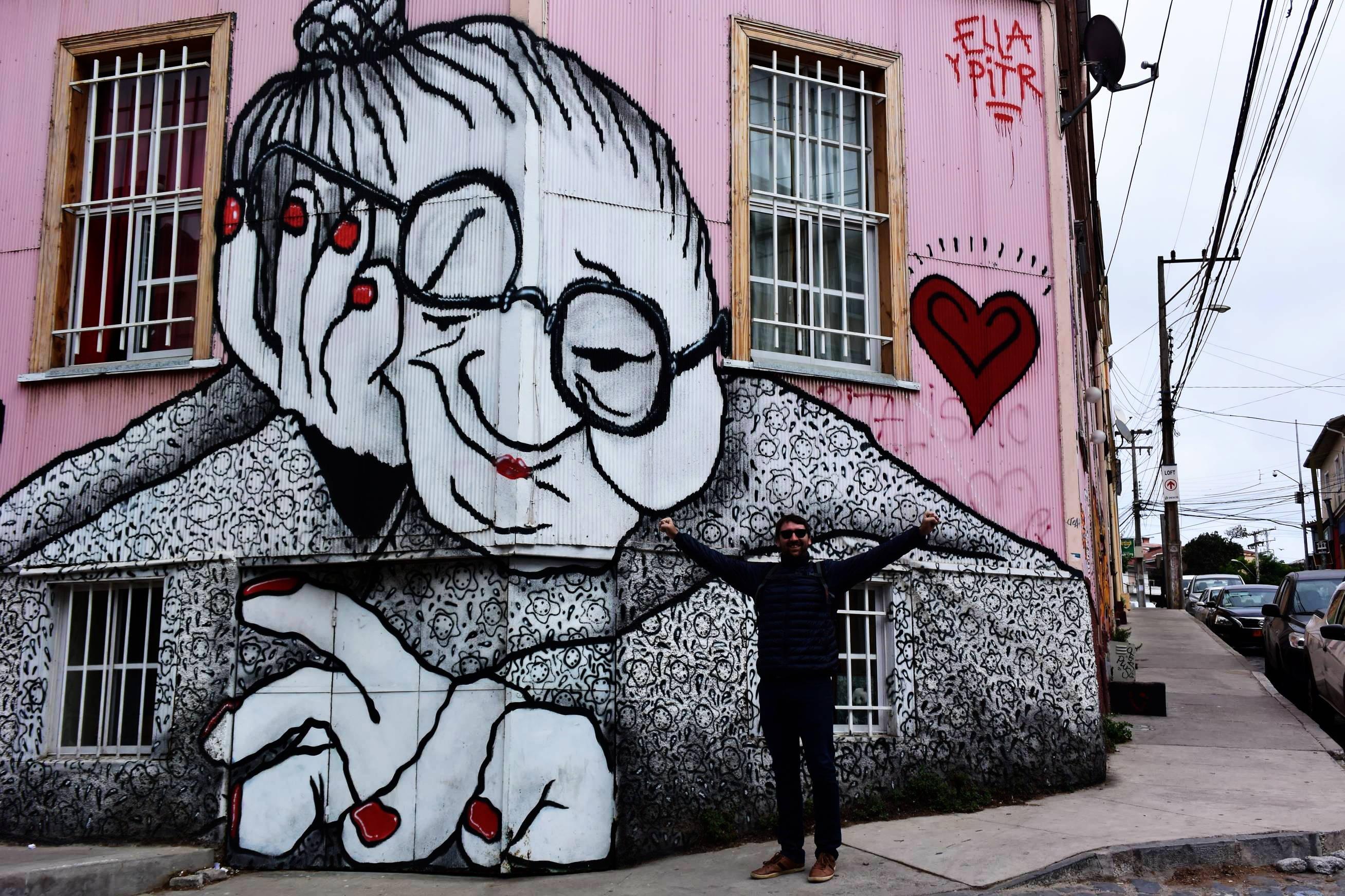 Street Art Valparaiso 1