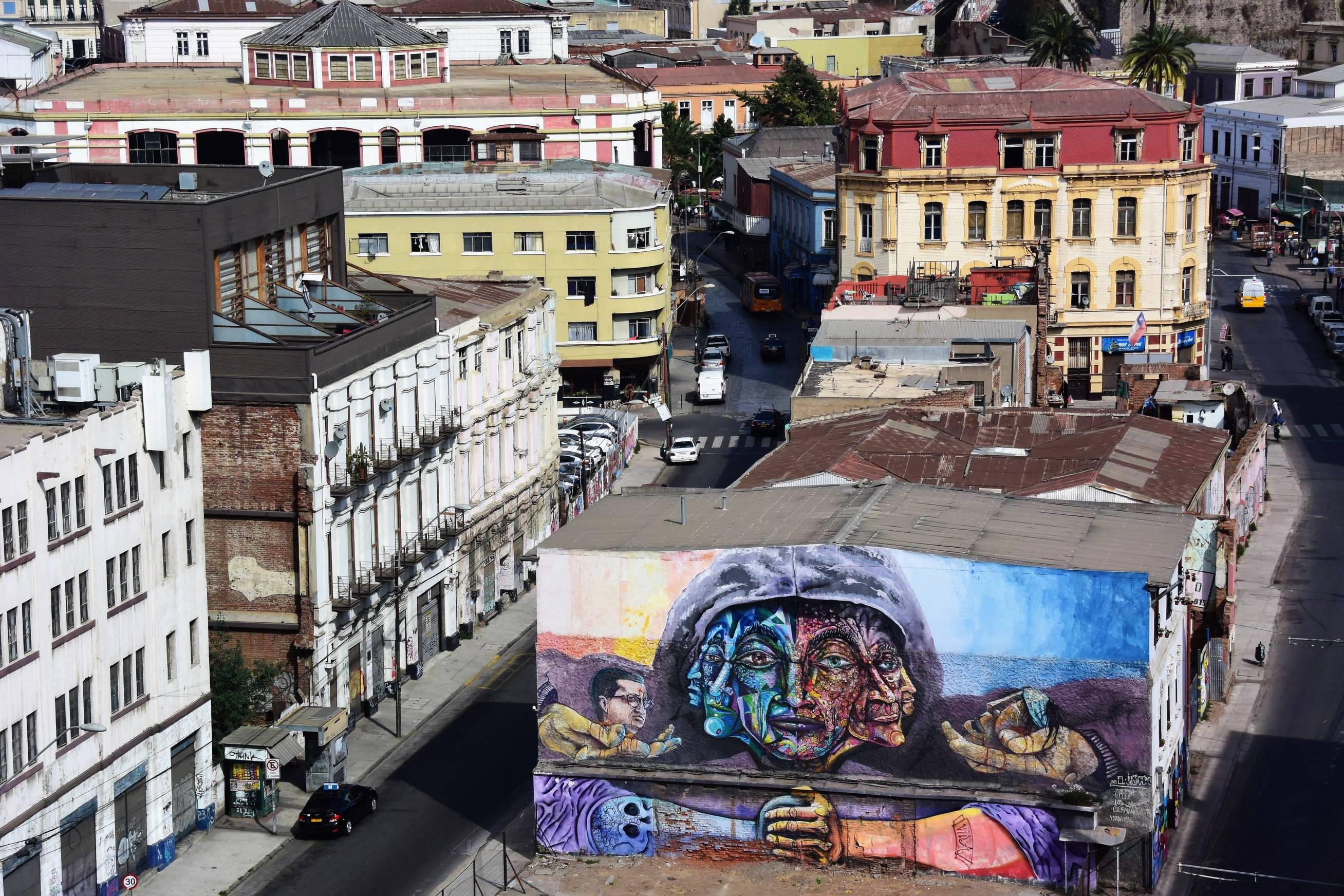 Street Art Valparaiso 3
