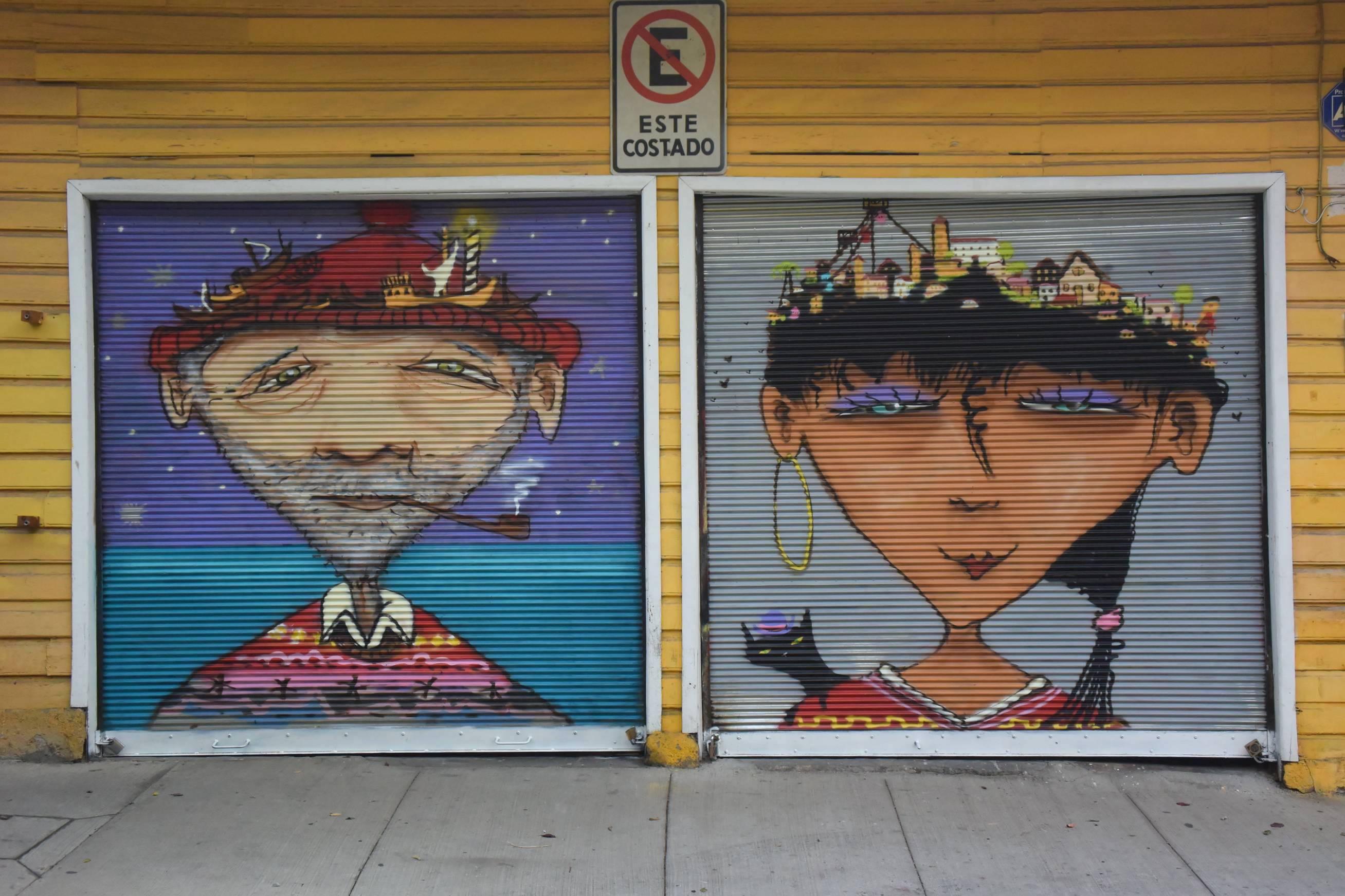 Street Art Valparaiso 4