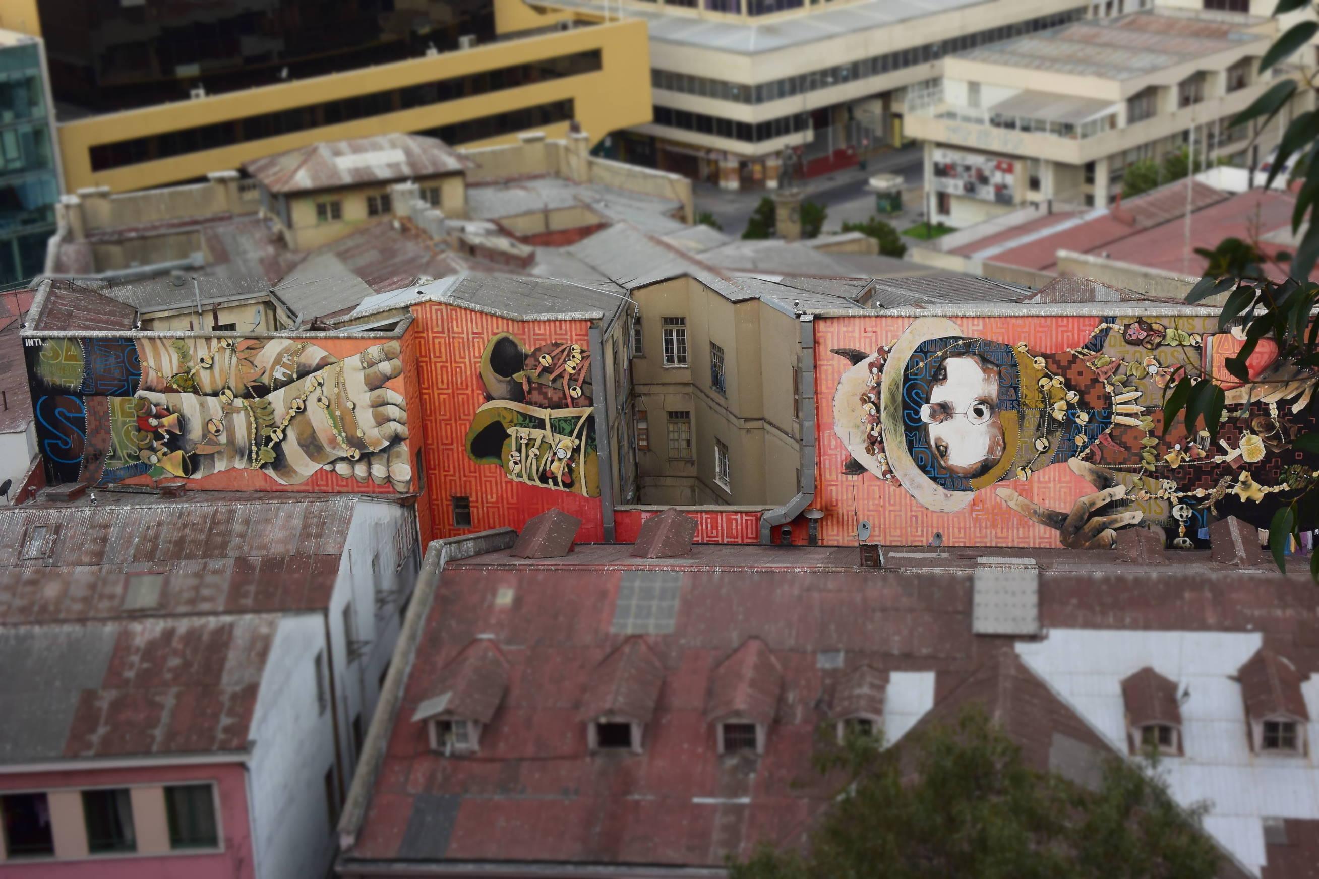 Street Art Valparaiso 6