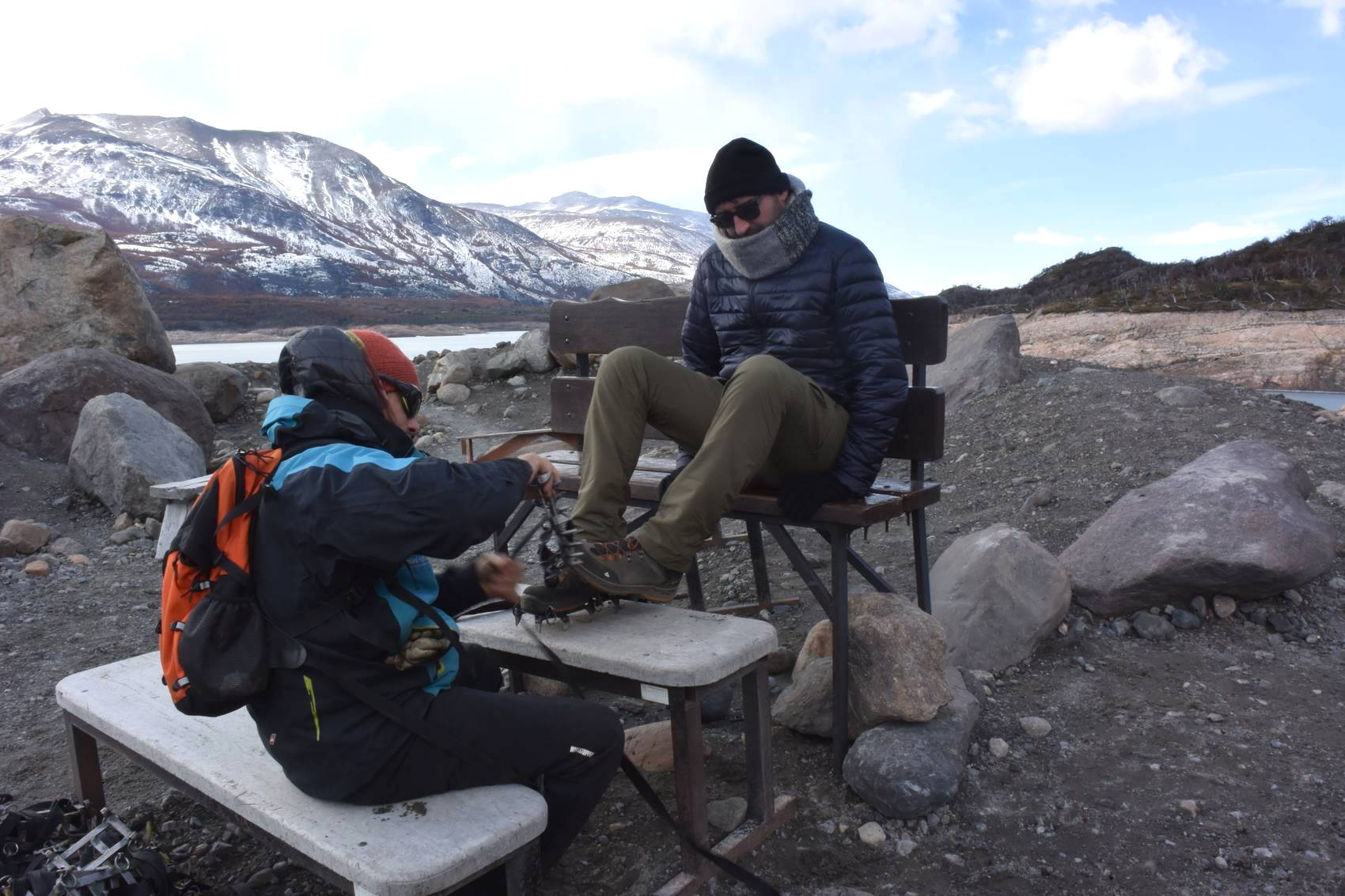 Balade sur le Perito Moreno 7