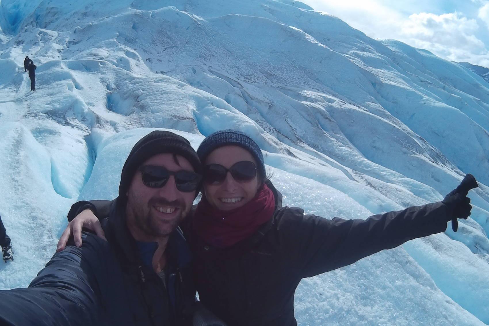 Balade sur le Perito Moreno 8