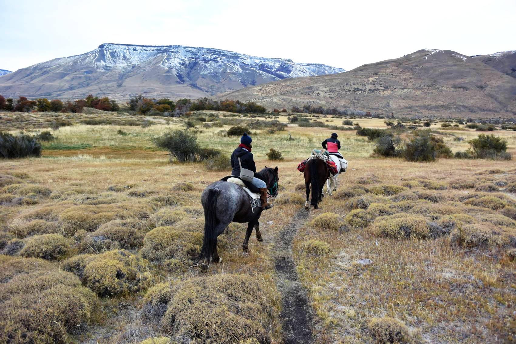 Cavalcade en Patagonie 2
