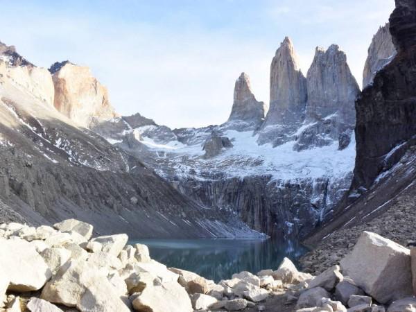 Miniature Torres del Paine
