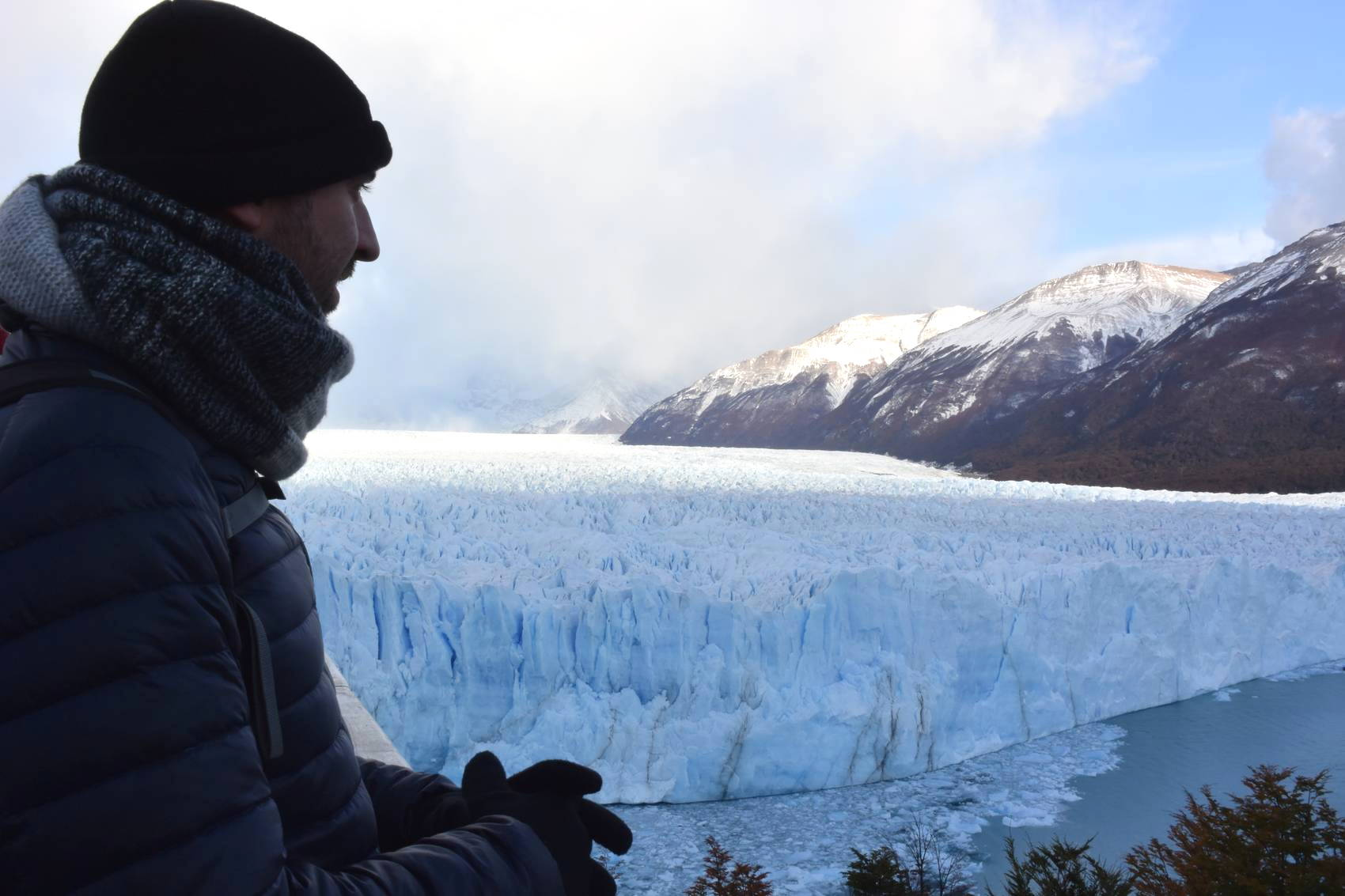 Vue des passerelles du Perito Moreno 3