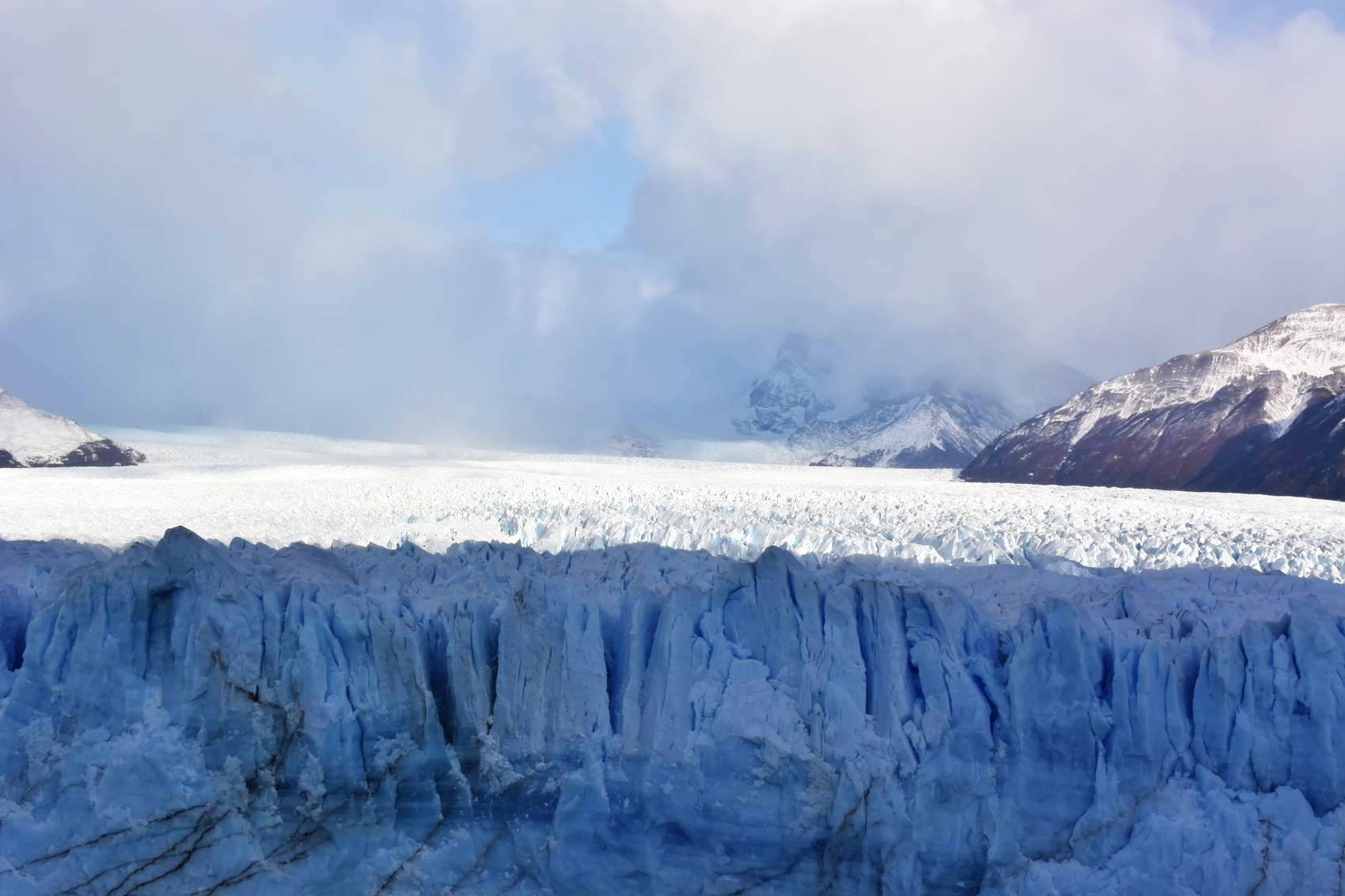 Vue des passerelles du Perito Moreno 4