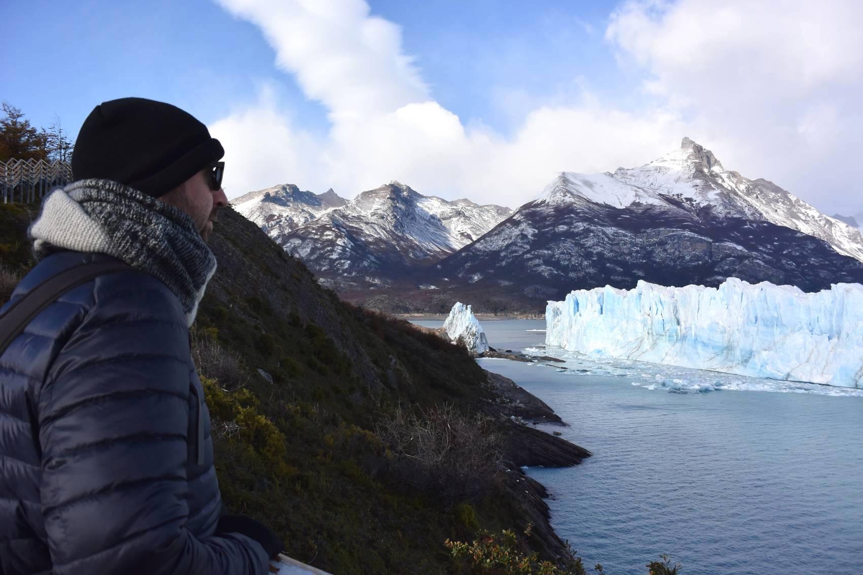 Vue des passerelles du Perito Moreno 7