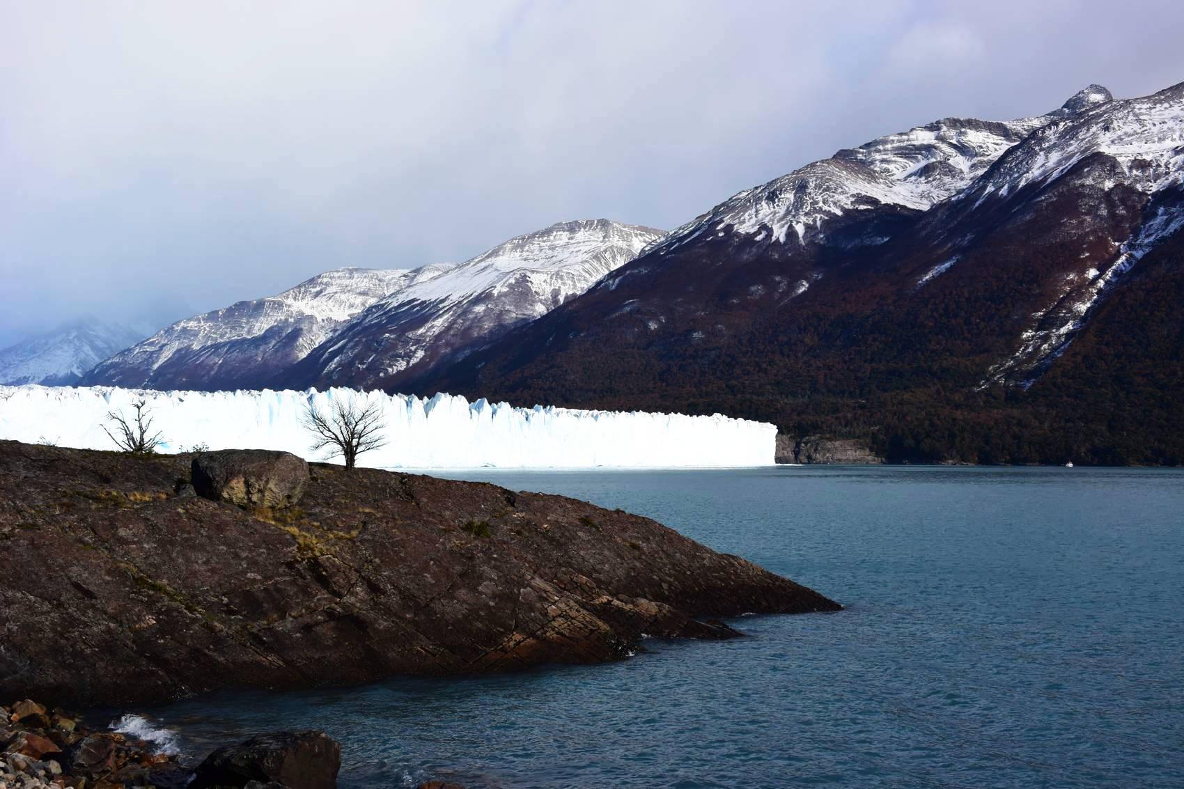 Vue des passerelles du Perito Moreno 8