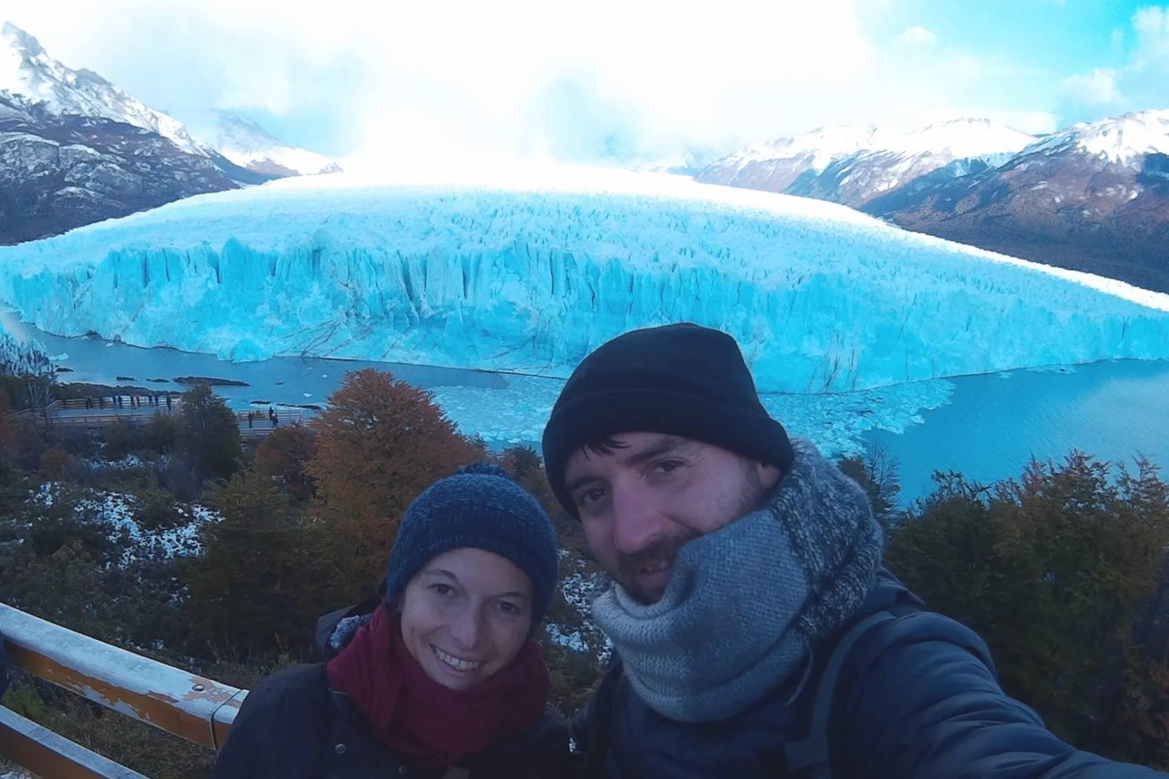 Vue des passerelles du Perito Moreno 9